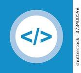 programming code icon . vector...