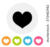 heart icon | Shutterstock .eps vector #373482982