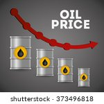 petroleum and oil prices... | Shutterstock .eps vector #373496818