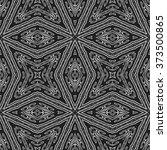 dark abstract paisley ornament. ...   Shutterstock . vector #373500865