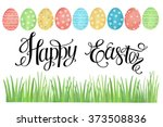 Watercolor Easter Card With...