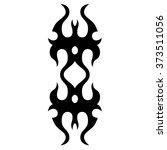 tattoo. stencil. pattern.... | Shutterstock .eps vector #373511056