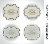 border frame for your design... | Shutterstock .eps vector #373529548