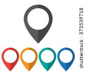 location icon | Shutterstock .eps vector #373539718