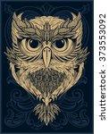 owl | Shutterstock .eps vector #373553092