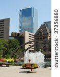 Stock photo photo of nathan phillips square in downtown toronto canada 37356880