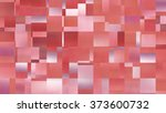 abstract background. red mosaic | Shutterstock . vector #373600732