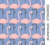 vector seamless pattern with... | Shutterstock .eps vector #373626502