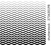 wave pattern. sea background in ... | Shutterstock .eps vector #373630198