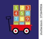 vector illustration of a... | Shutterstock .eps vector #373649836