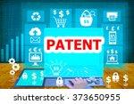 technology and biz concept...   Shutterstock . vector #373650955