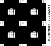 travel bag icon | Shutterstock .eps vector #373652065