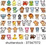 animals vector vol_7 | Shutterstock .eps vector #37367572