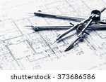 architectural blueprints | Shutterstock . vector #373686586