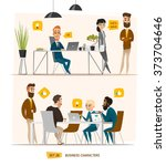 Business Characters Set....