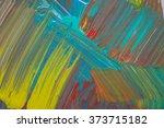 abstract art background. hand... | Shutterstock . vector #373715182