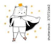 bear drawing   funny vector...   Shutterstock .eps vector #373721662