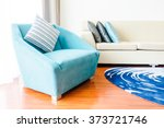 beautiful luxury pillow on sofa ... | Shutterstock . vector #373721746
