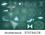 big collection of elements ...   Shutterstock .eps vector #373734178