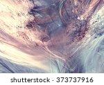 fantastic clouds in soft blue... | Shutterstock . vector #373737916