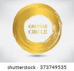 vector grunge circle.grunge... | Shutterstock .eps vector #373749535