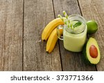 delicious smoothie made out of... | Shutterstock . vector #373771366
