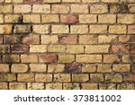 old  textured bricks wall... | Shutterstock . vector #373811002