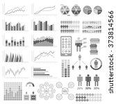 set of infographic elements.... | Shutterstock .eps vector #373814566