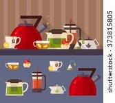 vector concept illustration of... | Shutterstock .eps vector #373815805