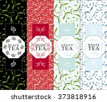 set of vector design elements... | Shutterstock .eps vector #373818916