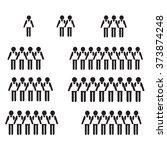 man people icon illustration... | Shutterstock .eps vector #373874248