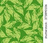 snails seamless pattern... | Shutterstock .eps vector #373890106