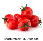 Fresh Cherry Tomato Isolated O...