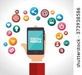 social media design  | Shutterstock .eps vector #373938586