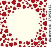 valentine pattern. seamless...   Shutterstock .eps vector #373938682