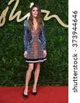 Small photo of LONDON, UK - NOVEMBER 23, 2015: Elisa Sednaoui at the British Fashion Awards 2015 at the Coliseum Theatre, London. November 23, 2015 London, UK Picture: Steve Vas / Featureflash