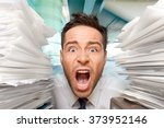 emotional stress. | Shutterstock . vector #373952146