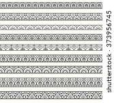design elements pompeian borders | Shutterstock .eps vector #373956745