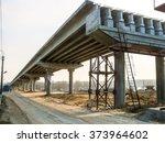 Construction Of Traffic Artery.
