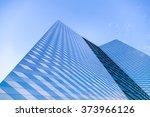 street bottom view of a modern...   Shutterstock . vector #373966126