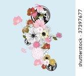 illustration of a decorative... | Shutterstock .eps vector #37397677