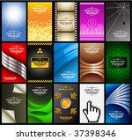 business cards  set 10  | Shutterstock .eps vector #37398346