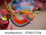 Colorful Dragon Plastic And...