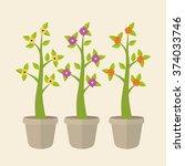 spring season design  | Shutterstock .eps vector #374033746
