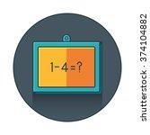 presentation  whiteboard icon...