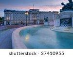 Buckingham Palace At Sunset ...