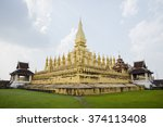 that loung temple | Shutterstock . vector #374113408