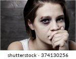 woman. | Shutterstock . vector #374130256