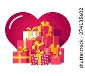 Saint Valentines Day Red Gift...