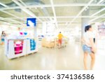 shopping mall abstract... | Shutterstock . vector #374136586